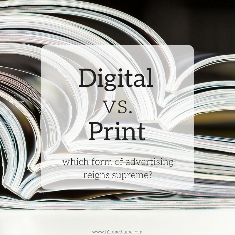 Digital Vs. Print