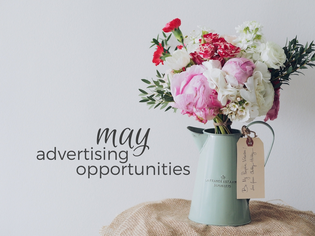 April Showers Bring May Advertorials