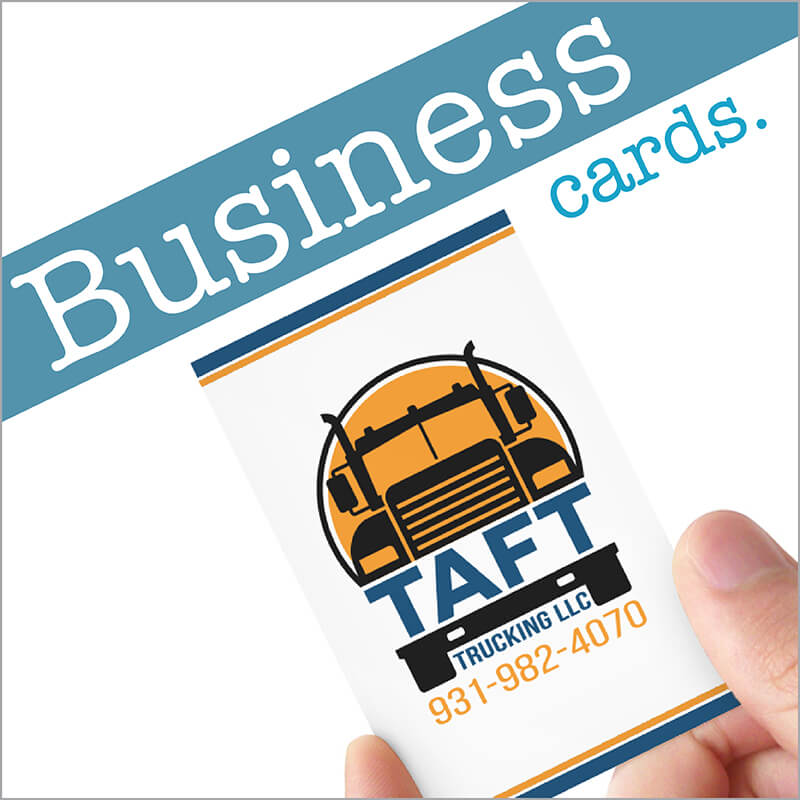 business cards - Trucking Business Cards